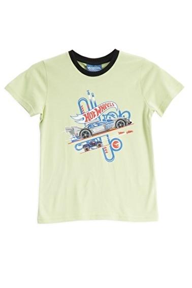 Hot Wheels Hot Wheels Lisanslı Mint Erkek Çocuk T-Shirt Sarı